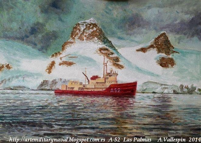 Pintura del BIO Las Palmas A-52
