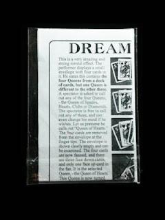 toko sulap jogja Dream Queen Trick