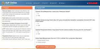 Panduan Pengisian SPT Tahunan PPh Orang Pribadi Formulir 1770 S dan 1770 SS dengan E-Filing