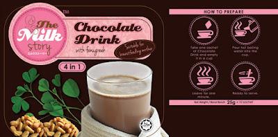 milk booster, koleksi the milk story, manisan untuk ibu menyusukan anak