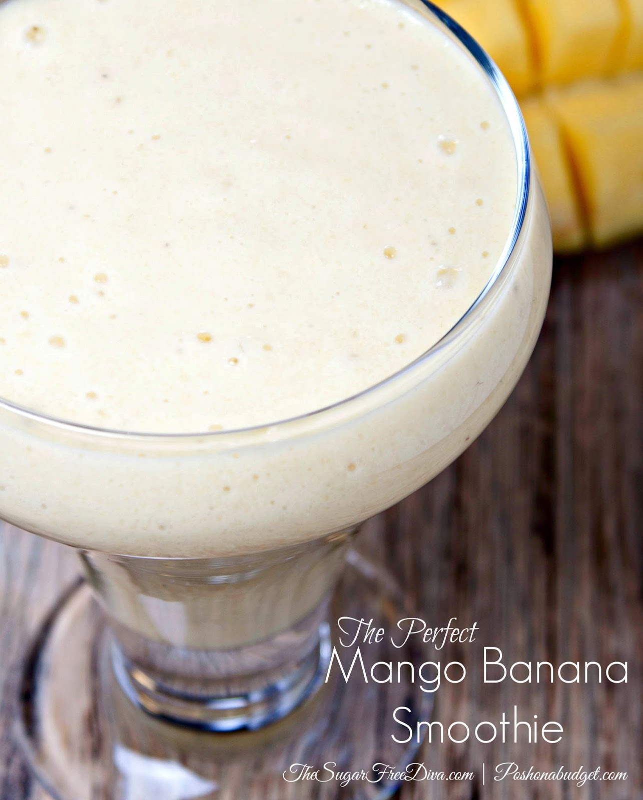 This was the Perfect Mango Smoothie!