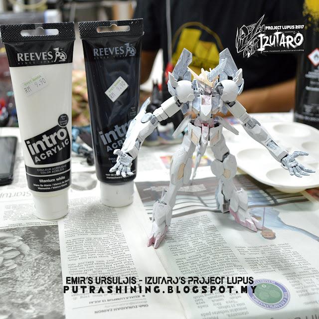 Izutaro Project Lupus 2017: Ursulois - HGIBO Gundam Barbatos Lupus Rex Custom Paint by Emir