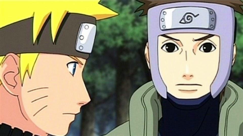 Naruto y Yamato