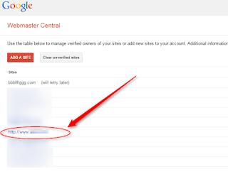 Cara Mengetahui Kode Verify Google Webmaster Tool