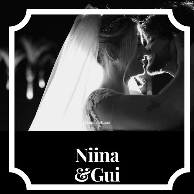 Casamento de Niina Secrets e Guilherme Oliveira