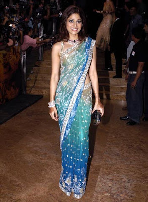 shamita-shetty-in-shilpa-shetty-wedding-reception