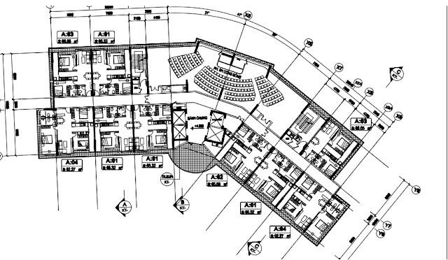 Sân khấu chung cho cả khu tại tòa T1 chung cư B1.3