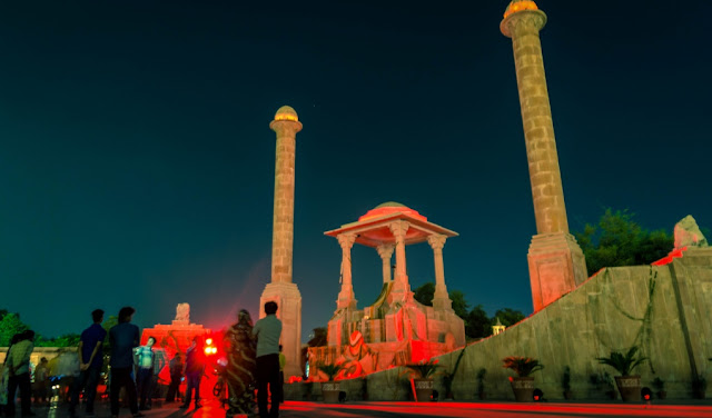 Amar-Jawan-Jyoti-in-jaipur-in-night