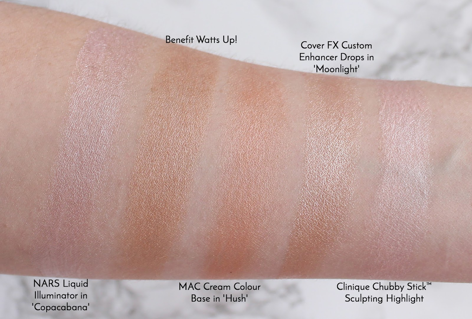 High End Highlighter Collection Review Amp Swatches