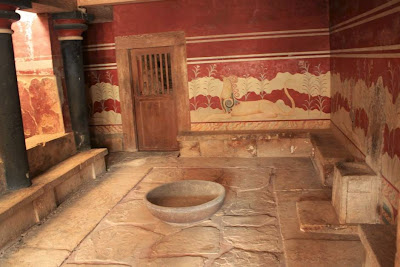 Throne Room in the Palace of Knossos