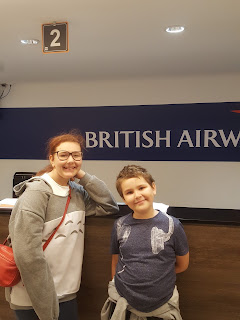 Top Ender and Dan Jon Jr at Check-in at KidZania