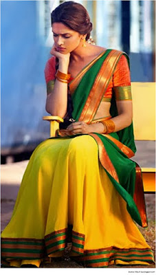 Traditional-indian-bridal-half-saree-designs-for-weddings-15