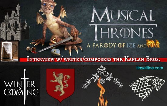 MUSICAL THRONES: PARODY OF ICE & FIRE INTERVIEW