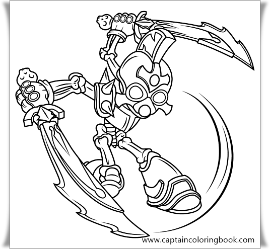 Skylanders Coloring Pages - ColoringPagesOnly.com | 495x536