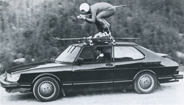 Weird Shit Skiers Do Car Roof Skiing Illicit Blag
