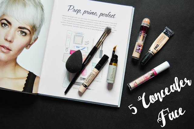 Five Concealer Face - ReCover Concealer Review, L.A Girl Pro Conceal