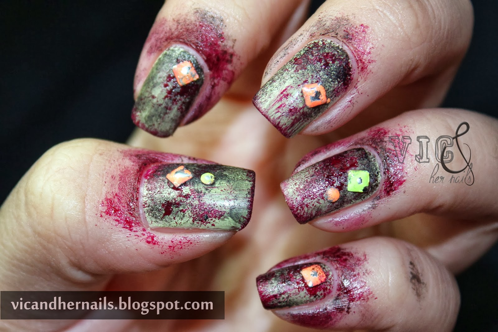 Vic and Her Nails: Halloween Nail Art Challenge and ...