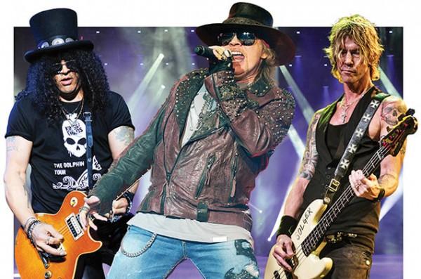 Guns n Roses Mexico 29 de Noviembre 2016