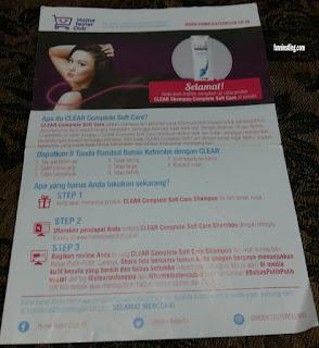 Petunjuk mengenai Shampoo Anti Ketombe
