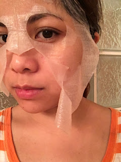 the sheet mask lady
