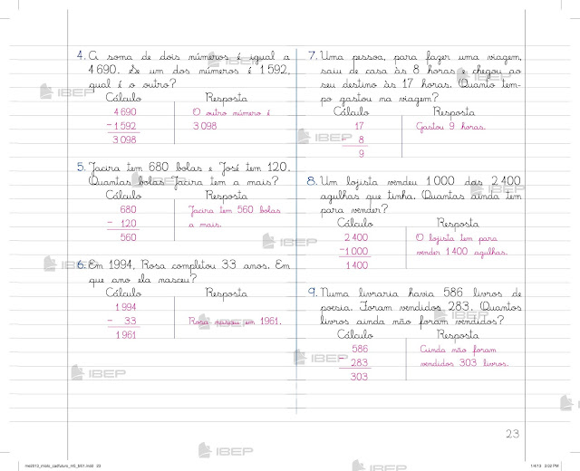 Caderno do Futuro 5 Ano Matematica do Professor Pdf