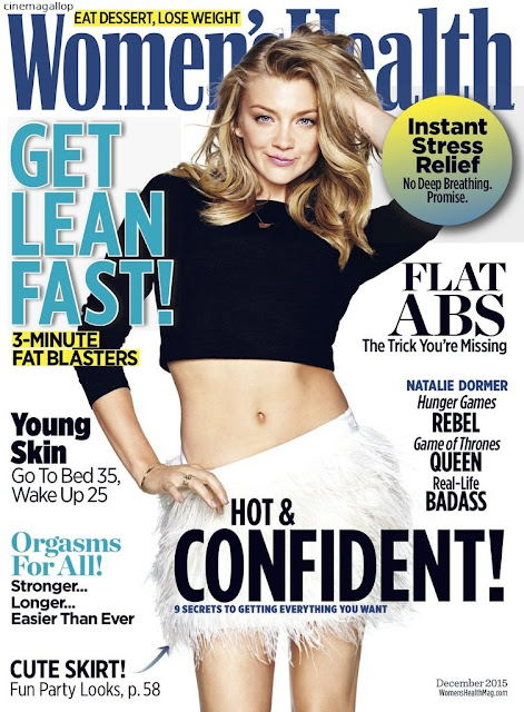 Women Health December 2015 Issue Natalie Dormer - Natalie Dormer Hot Bikini Photoshoot(HD)-60 Most Sexiest Cleavage Pictures of Game Of Thrones fame Seduces Us Atmost