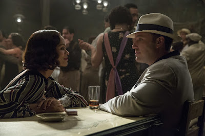 Ben Affleck and Zoe Saldana in Live By Night (12)