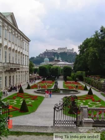 Palácio de Mirabell em Salzburg