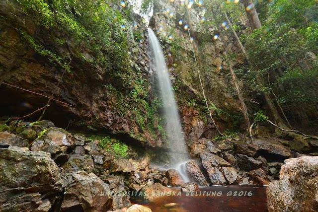 Air Terjun Lakedeng pulau bangka