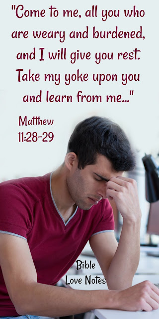 Jesus Invites Us to Come, Take, and Learn- Matthew 11:28-30