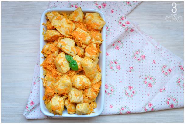 receita picadinho frango cenoura
