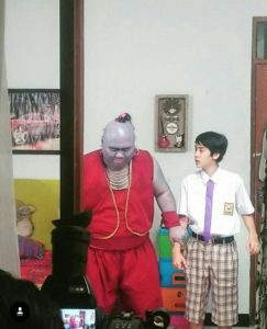 Foto Syuting Sinetron Aladin & Alakadam ANTV
