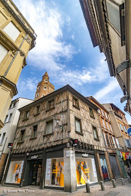 Ciudad Medieval - Toulouse por El Guisante Verde Project