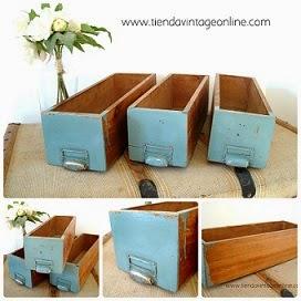 Comprar cajas de madera antiguas para decorar