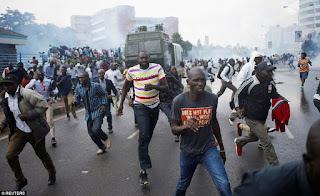 Kenyan politica Chaos. PHOTO | Reuters