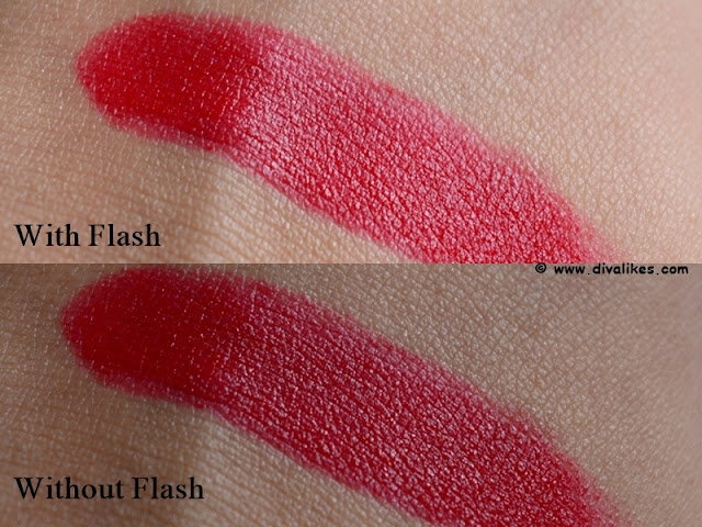 Avon True Color Perfectly Matte Lipstick Red Supreme Swatch