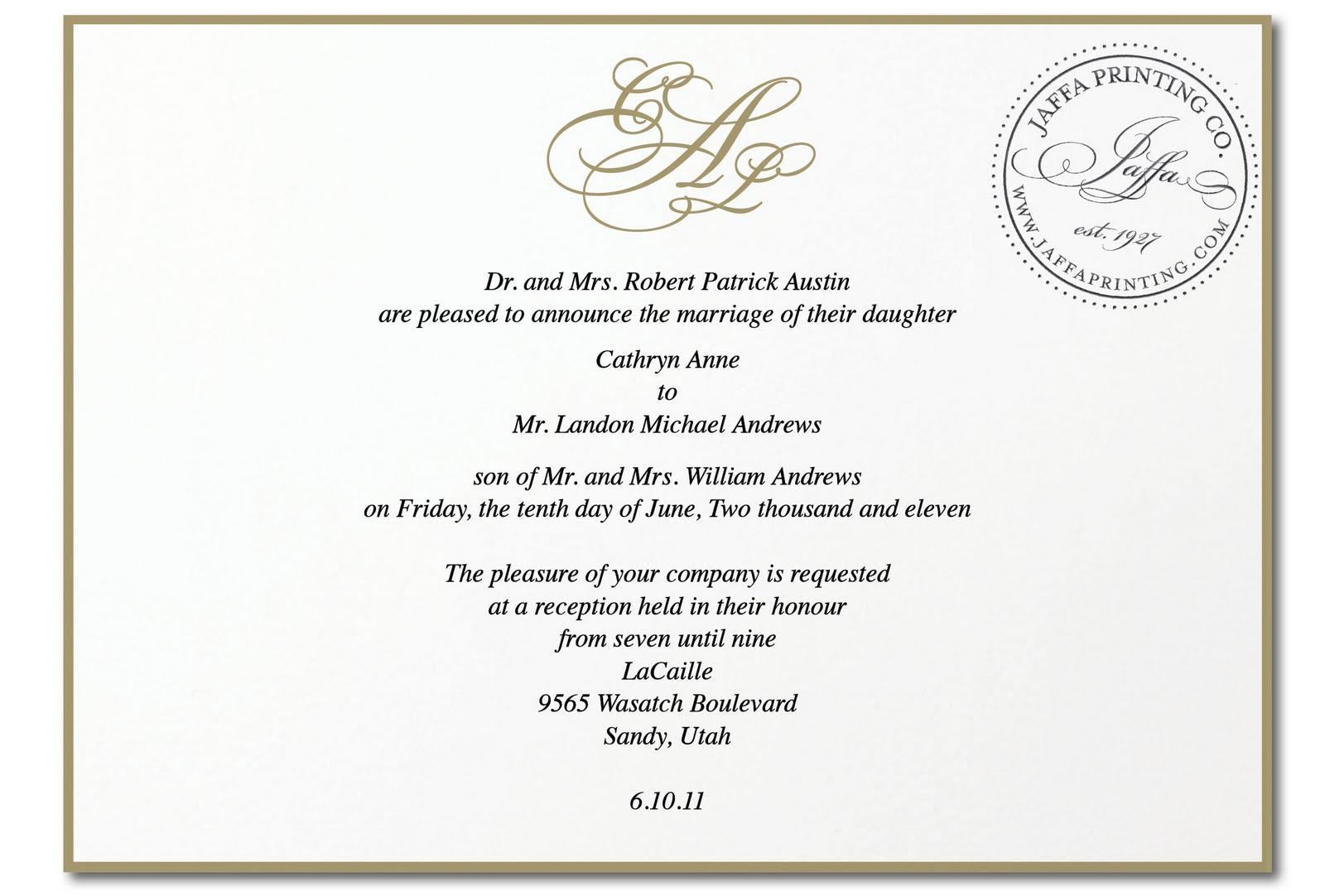 Wedding Invitation Blog: Royal Wedding Inspiration