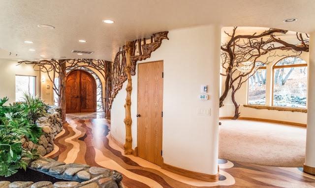 ตกแต่งบ้านด้วยเศษไม้