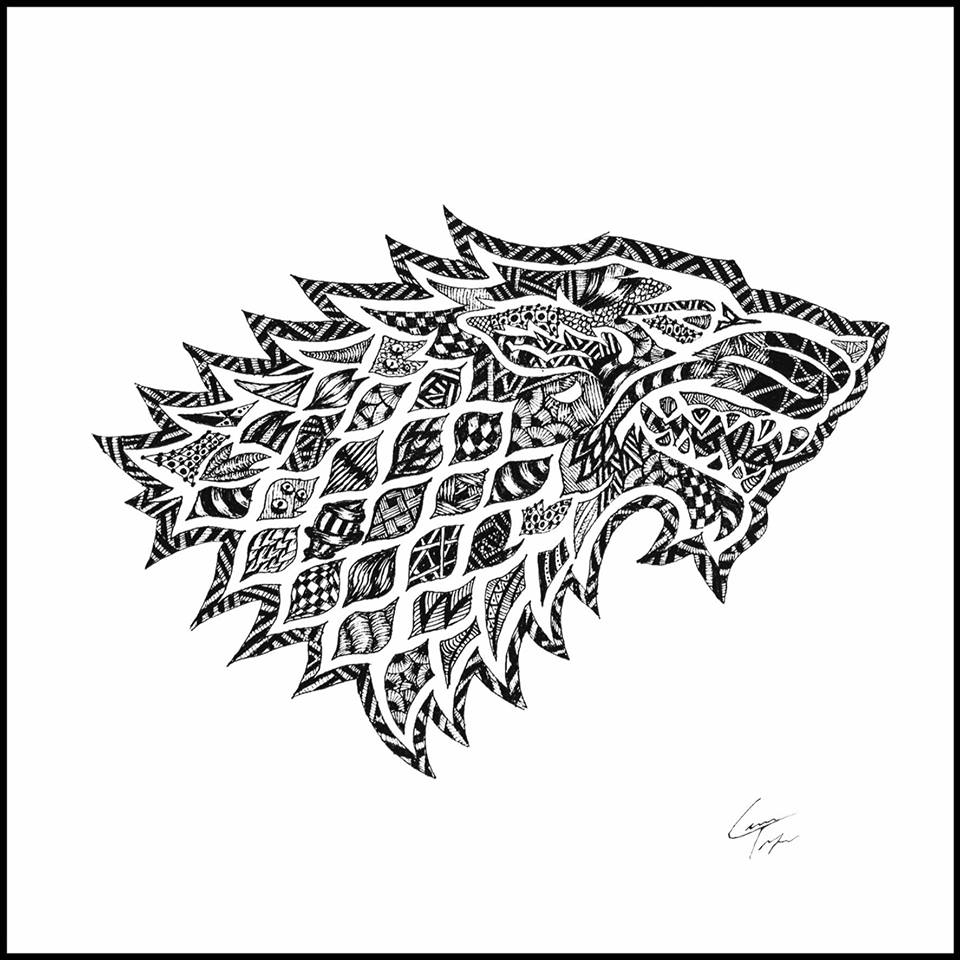 Game Of Thrones House Sigils Drawing