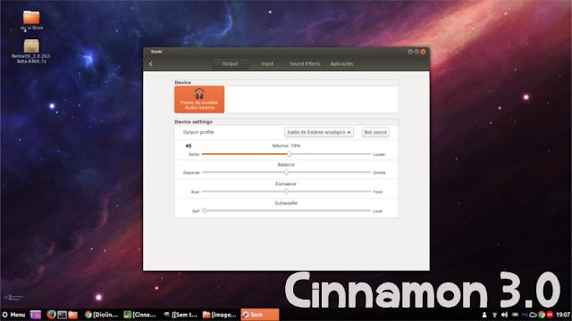 Cinnamon 3.0 no Ubuntu 16.04 LTS