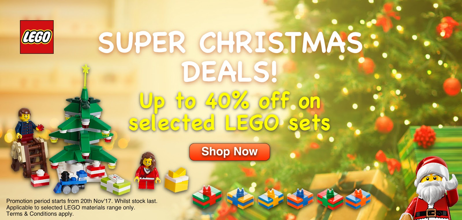 DeToyz Shop: LEGO Christmas Sales starts today!