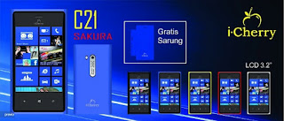 Harga iCherry C21 Sakura Bulan Mei 2013 dan Spesifikasi Lengkap