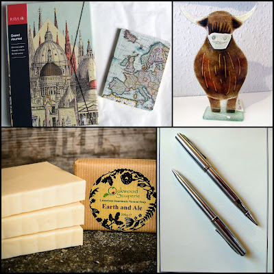 Collage of gifts for Father's Day at Present Perfect