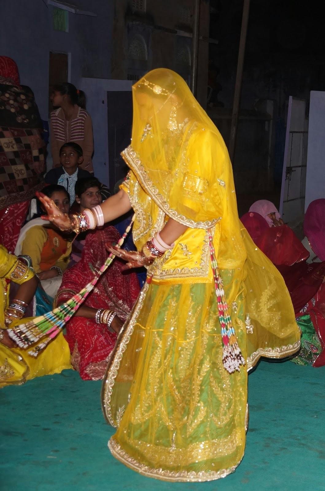 Rajasthani Dance In Rajputi Poshak Culture Of Rajasthan