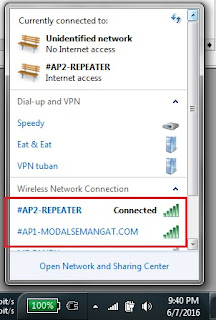 scan wifi dari laptop