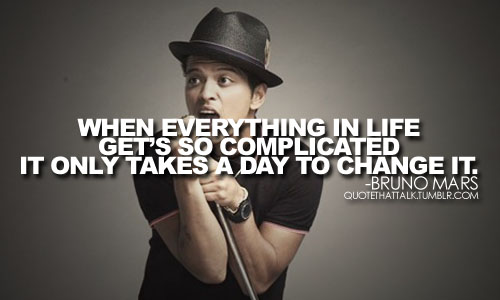 Bruno Mars Quotes Tumblr