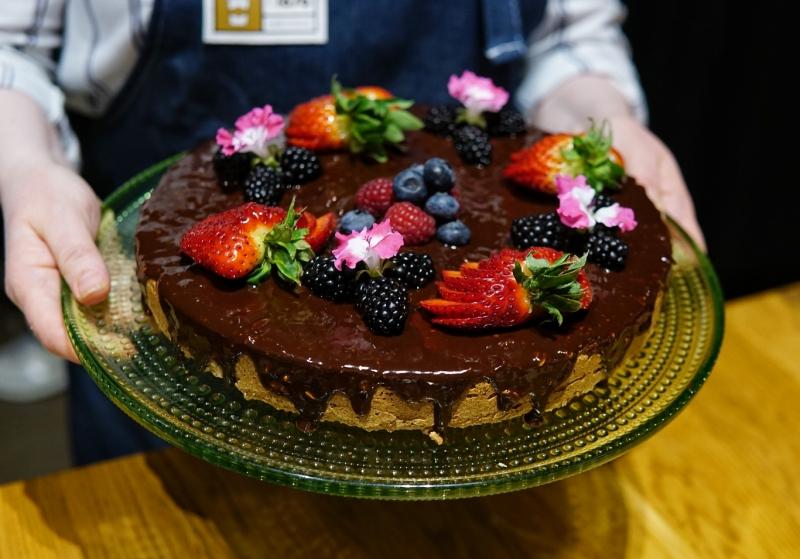 Suklaakakku, paulig kokkikoulu