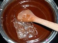 Añadiendo la gelatina