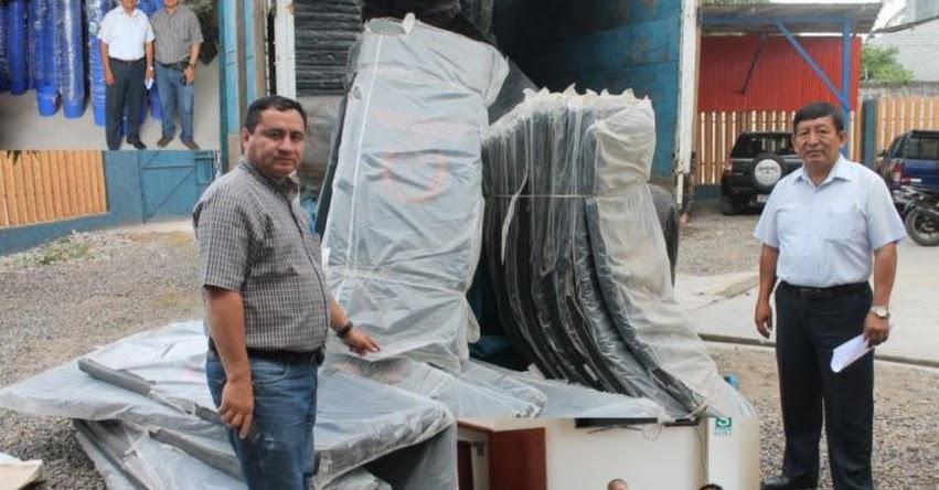 Defensa Civil de Amazonas dona 2 mil colchonetas gracias a gestión de la UGEL Bagua