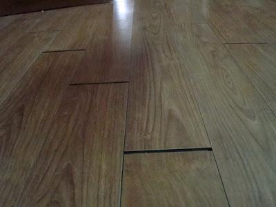 Một số lỗi thường gặp ở sàn gỗ giáng hương
